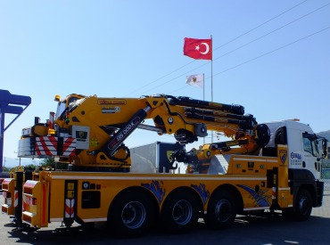 ER-135.000 K7+5 ''NEW'' Knuckle Boom Cranes