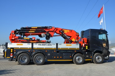 ER-160.000 L8+6 ''NEW MODEL'' Knuckle Boom Cranes