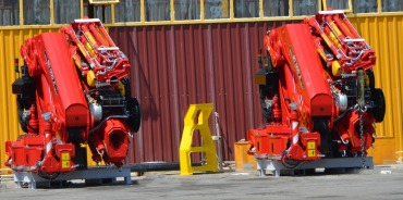 ER-80.000 A7 ''NEW' Knuckle Boom Cranes